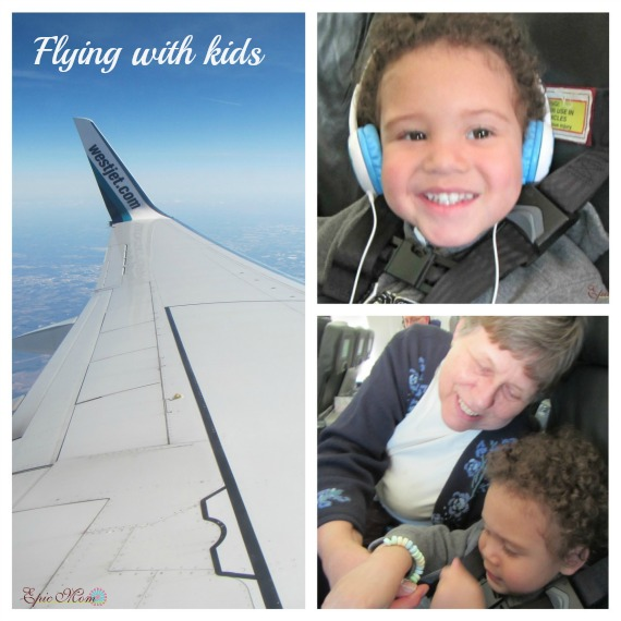 Flying with kids epic