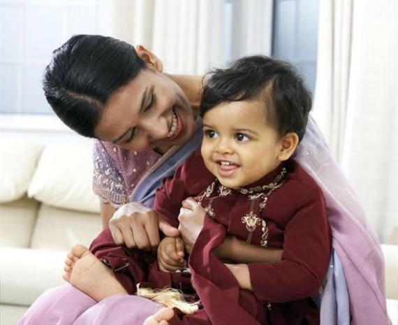 South Asian mom and baby1