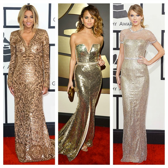 Epic Emmy 2014 Gold Dresses