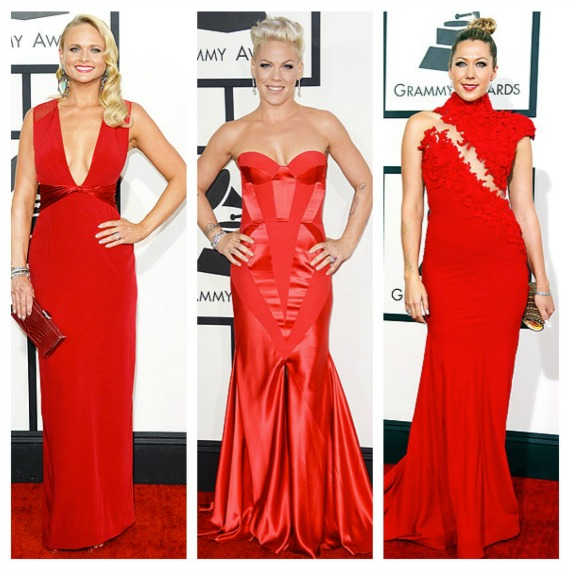 Epic Emmy 2014 Red dresses