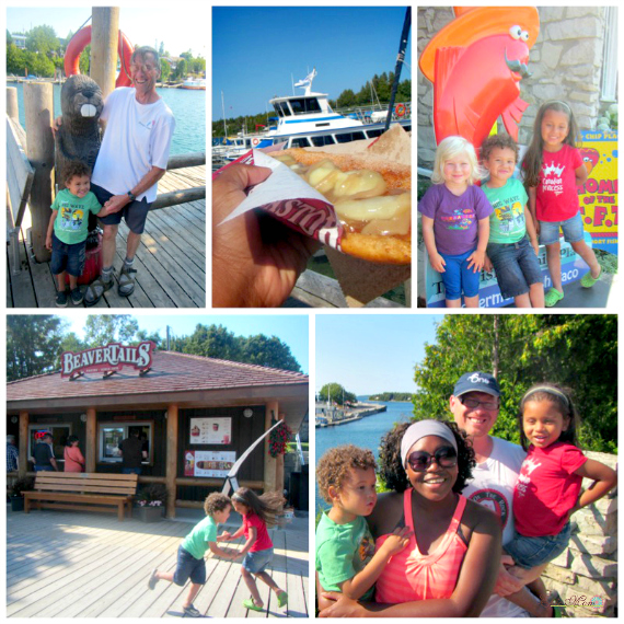 Epic family at Tobermory Ontario