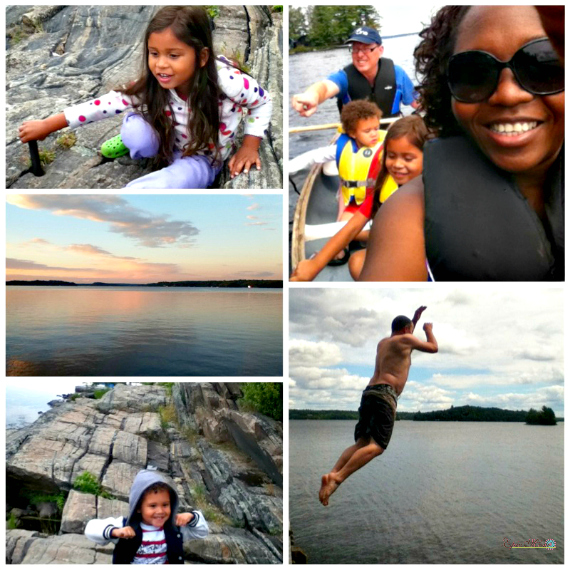Epic family in Muskoka Ontario